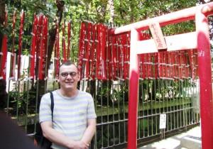 Horacio Castellanos Moya en Japón. Foto: Gregory Zambrano
