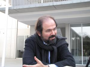 Con Juan Villoro Tokio2