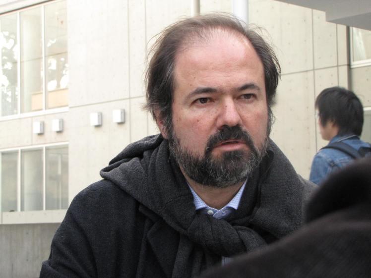 Con Juan Villoro Tokio3